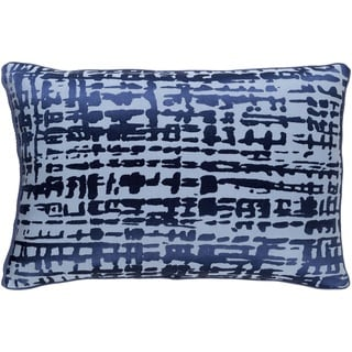 Decorative Dara Feather Down or Poly Filled Throw Pillow (13 x 20)