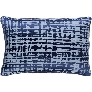 Decorative Dara Down or Poly Filled Throw Pillow (13 x 20)