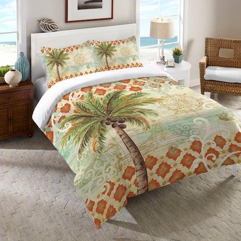 Laural Home Vintage Palm Comforter