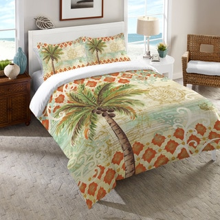 Laural Home Vintage Palm Comforter