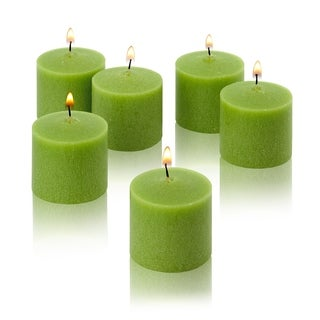 Lime Green Unscented Votive Candles Set of 288 Burn 10 Hours