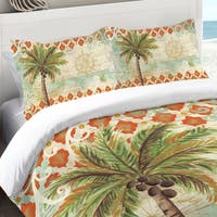 Laural Home Vintage Palm Standard Pillow Sham