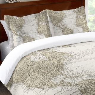 Laural Home World Traveler Standard Pillow Sham
