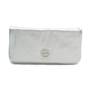 Tory Burch Silver Reva Crossbody Handbag