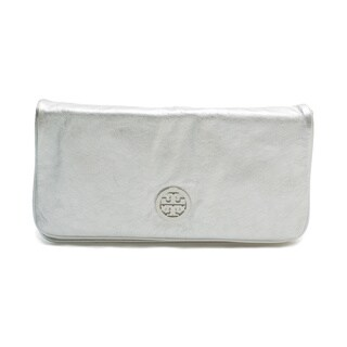 Tory Burch Silver Reva Crossbody Handbag