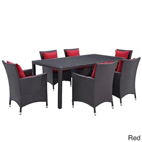 Gather Rattan Outdoor Dining Set (7 Piece)