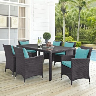 Gather Rattan Outdoor Dining Set (7 Piece)