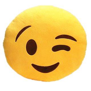 Emoji Face Pillow