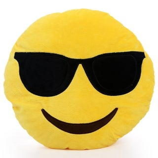 Emoji Face Pillow (4 options available)
