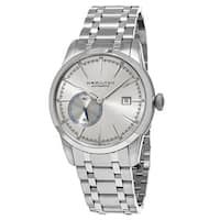 Hamilton Men's  'Timeless Classic' Silver Dial Stainless Steel Railroad Small Seconds Swiss