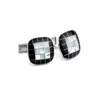 MOP Checker Cuff Links