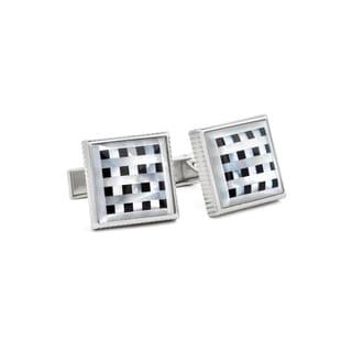 Checker Cuff Links