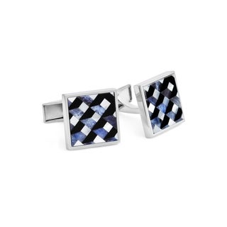 Mother of Pearl Onyx Cuff Links