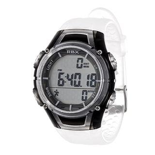 RBX White Multi-Function Activity Tracker Pedometer Digital Watch