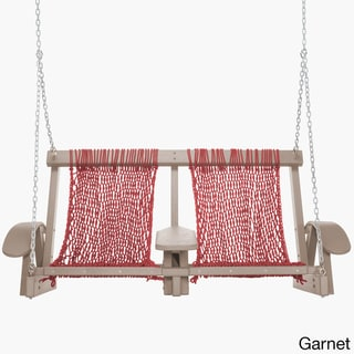 Coastal Duracord Weatherwood Swing