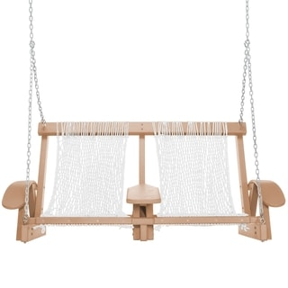 Coastal Duracord Cedar Swing