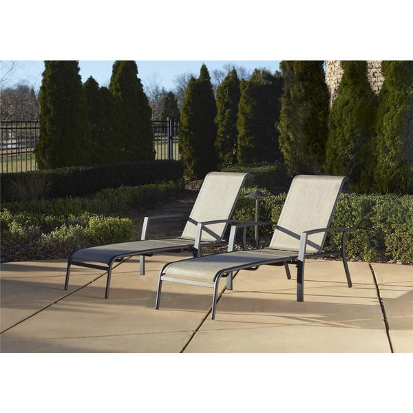 Cosco Outdoor Aluminum Chaise Lounge Chair (Set of 2) - Free Shipping Today - Overstock.com - 18527175  sc 1 st  Overstock : aluminum chaise lounge - Sectionals, Sofas & Couches