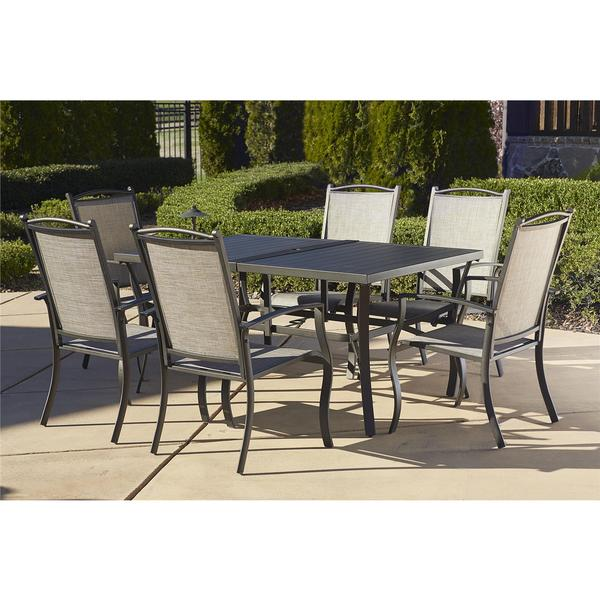 Cosco Outdoor Piece Aluminum Patio Dining Set Free Shipping