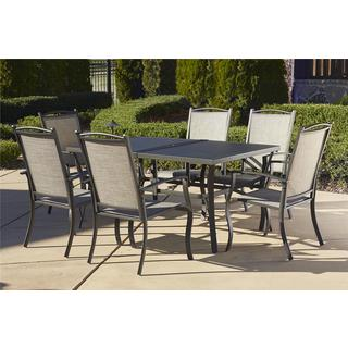 Cosco Outdoor 7-piece Aluminum Patio Dining Set