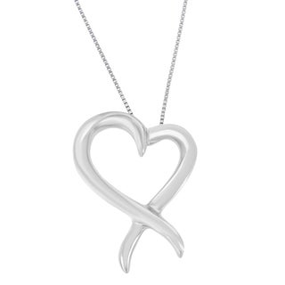 Sterling Silver Heart-shaped Pendant