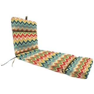 Jordan Manufacturing Spun Polyester Culloden Fiesta Chaise Lounge Cushion