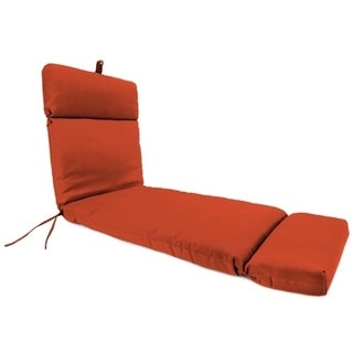 Jordan Manufacturing Sunbrella Spectrum Grenadine Chaise Lounge Cushion