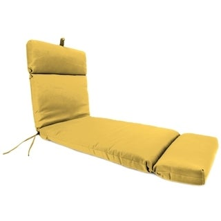 Jordan Manufacturing Sunbrella Spectrum Daffodil Chaise Lounge Cushion