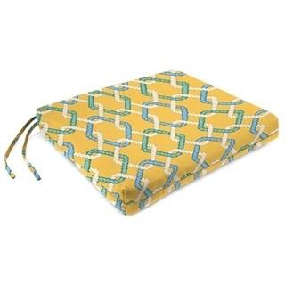 Jordan Manufacturing Spun Polyester Cape Cod Summer Seat Pad