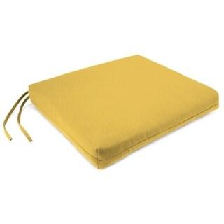 Jordan Manufacturing Sunbrella Seat Pad Spectrum Daffodil