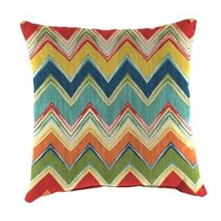 Jordan Manufacturing Spun Polyester Culloden Fiesta Wicker Pillow