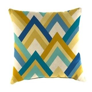 Jordan Manufacturing Spun Polyester Resort Cornsilk Wicker Pillow