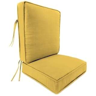 Jordan Manufacturing Deep Seat Chair Cushion in Spectrum Daffodil