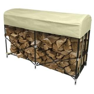 Jordan Manufacturing Steel Outdoor Firewood Storage