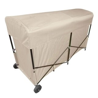 Jordan Manufacturing Steel Outdoor Cushion Storage with Vinyl Cover