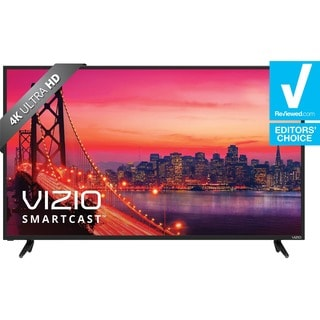 VIZIO SmartCast E-series 55'' Class (54.64'' diag.) Ultra HD Home Theater Display w/ Chromecast built-in