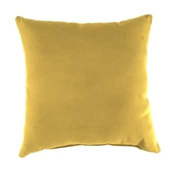 Jordan Manufacturing Sunbrella Spectrum Daffodil Wicker Pillow