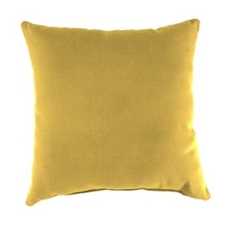 Jordan Manufacturing Sunbrella Spectrum Daffodil Wicker Pillow