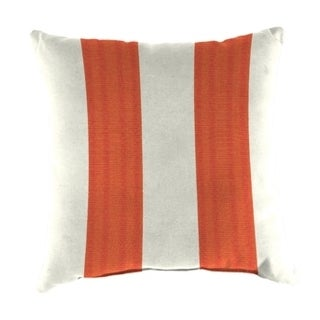 Jordan Manufacturing Sunbrella Cabana Flame Wicker Pillow