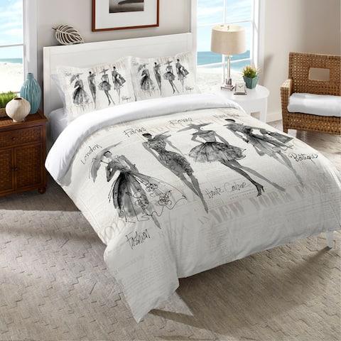 Laural Home Fashion Divas Comforter