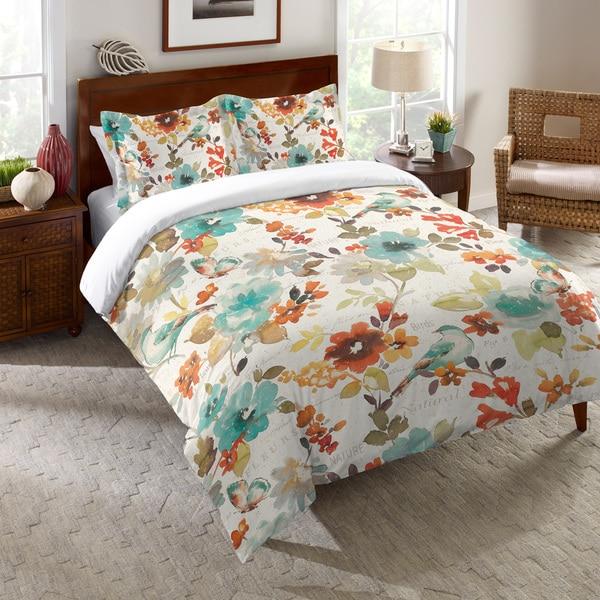 Laural Home Nature's Garden Comforter