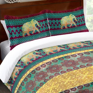 Laural Home Moroccan Elephants Standard Pillow Sham