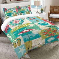 Laural Home Beach Party Duvet Cover
