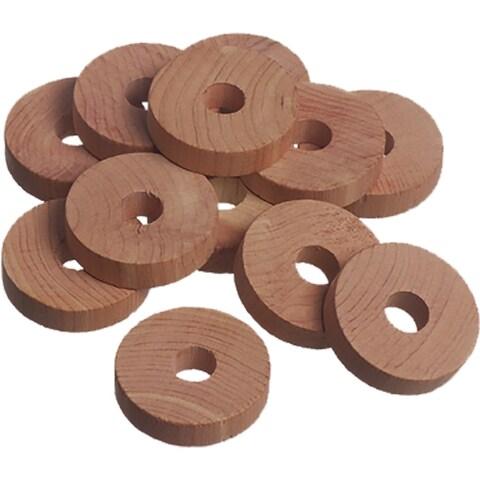 Red Cedar Wood Rings (12 Pack)