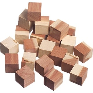 Red Cedar Wood Cubes (24 Pack) - N/A