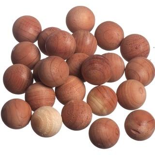 Red Cedar Wood Balls (24 Pack) - N/A