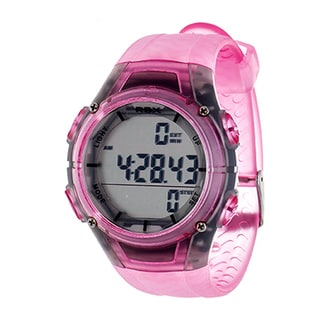 RBX Pink Multi-Function Activity Tracker Pedometer Digital Watch