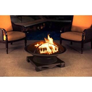 Sunjoy 110501003 Cast Steel 35-inch Fire Pit