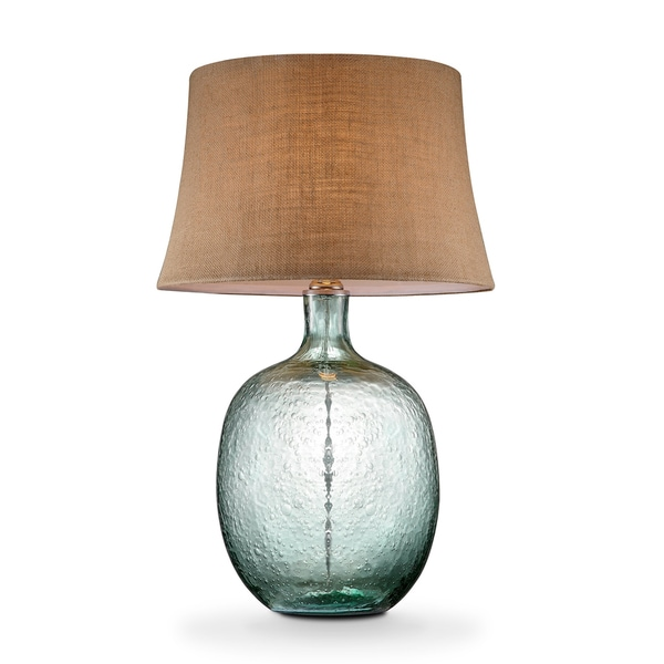 TRIBECCA HOME Catharine Sea Breeze Glass Table L& - Free Shipping Today - Overstock.com - 18528469  sc 1 st  Overstock & TRIBECCA HOME Catharine Sea Breeze Glass Table Lamp - Free ... azcodes.com
