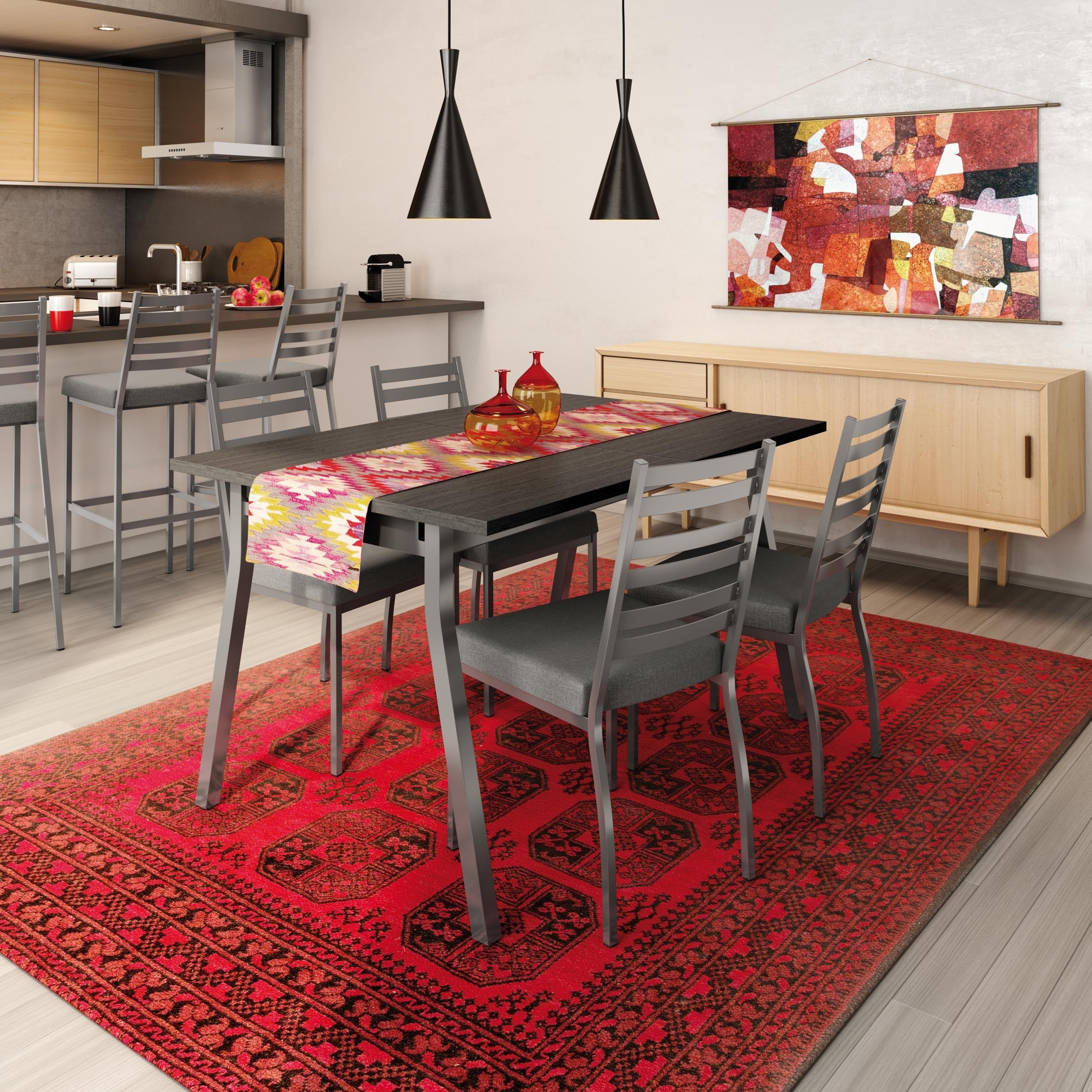 AIMSCO/DELTA HI-TECH Stage Metal Chairs and Annex Extenda...