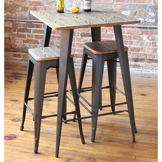 Oregon Industrial 30 inch Stackable Barstools (Set of 2)
